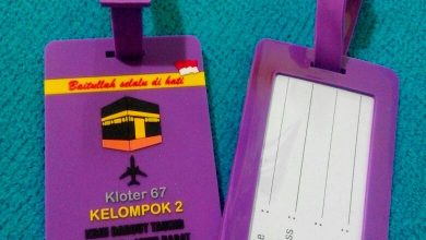 Photo of Bag Tag Rubber Koper
