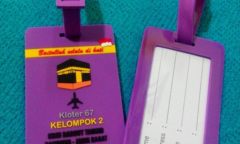 Photo of Bikin Bag Tag karet di surabaya